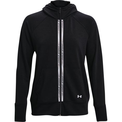 UNDER ARMOUR UA RIVAL TERRY FELPA ZIP DONNA